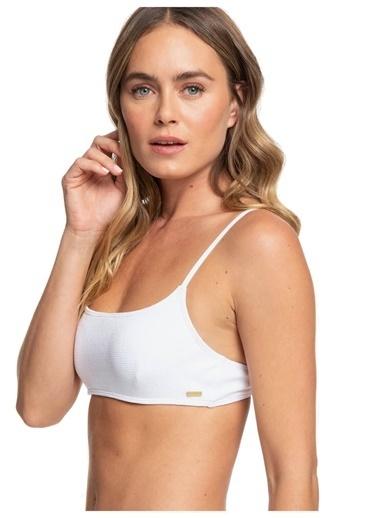 Roxy Bikini Üst Beyaz